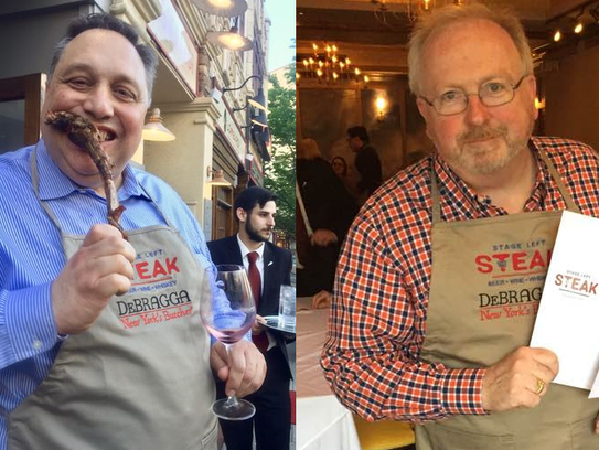 Friday's beefsteak will mark the first anniversary