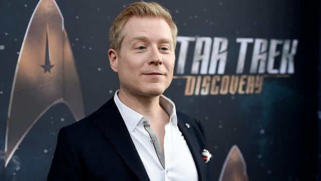 Anthony Rapp on Sept. 19, 2017 in Los Angeles.