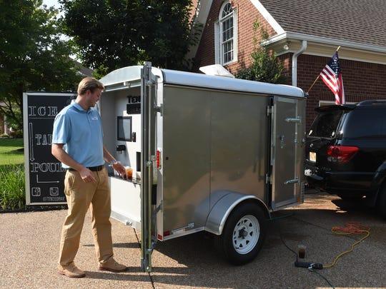 Jay Perkins opens up the TendedBar demonstration mobile