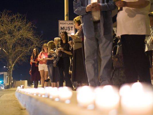 Vigil for 'Baby Chava'