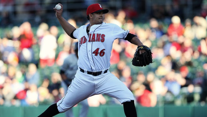 Indianapolis Indians pitcher Wilfredo Boscan tossed six scoreless innings to lead the Tribe to a 5-1 win Thursday night against Pawtucket at Victory Field.
