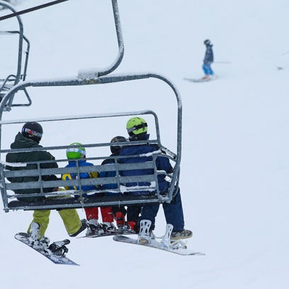 Winter enthusiasts take advantage of early snow at