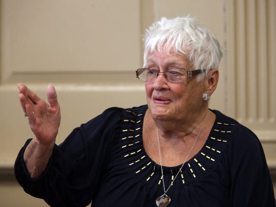 Marilyn Gilhuley, mother of victim Patrick Gilhuley,