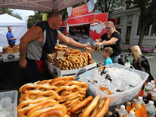 Nyack's Famous Street Fair returns to the village's