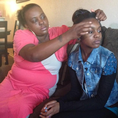 Thirteen-year-old Zenobia Greene said she was assaulted