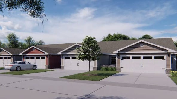 Redwood Living presented its plan for a 118-unit, single-story neighborhood during the Holland Township Planning Commission's regular meeting Tuesday, Feb. 2. Each single-story, slab-on-grade unit would include two bedrooms, two bathrooms and a two-car attached garage.