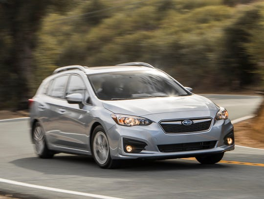 The 2018 Subaru Impreza five-door. This is a comfortable