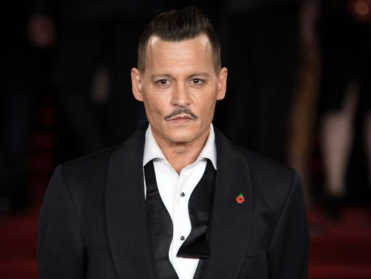 AP PEOPLE JOHNNY DEPP I ENT FILE GBR