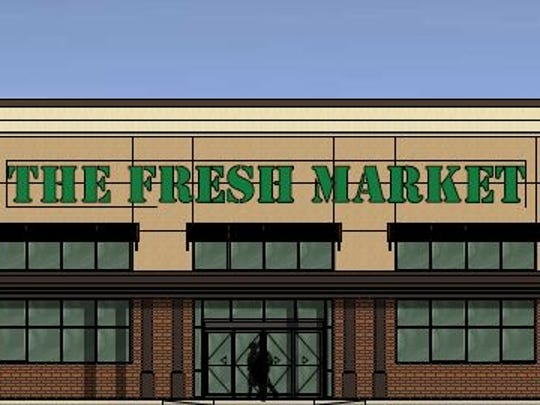 A Fresh Market grocery store will occupy the former