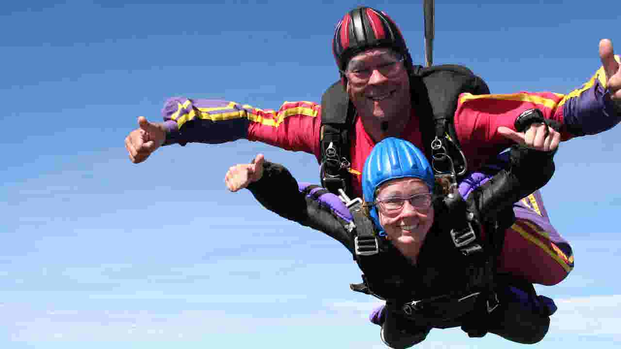 York skydivers find freedom in falling