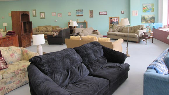 VOA has had a resale store in Brockport for more than 20 years and added the Bargain Center to offer customers more selection of home furnishings.