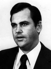 1971 file photo of Ron Ziegler, press secretary under President Richard M. Nixon