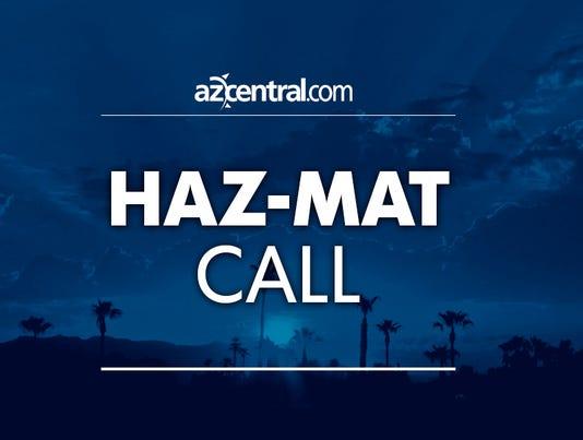 azcentral placeholder Haz-mat call