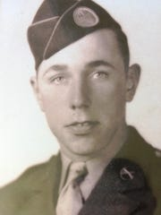 "Fredrick ""Fritz"" Zenk pictured in his Army uniform in the 1940s."