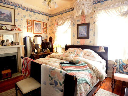 One of the guest rooms at Twenty-four Thirty-nine Fairfield