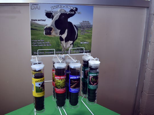 A display of DAI Insta – Cubes Instant Compost Tea,