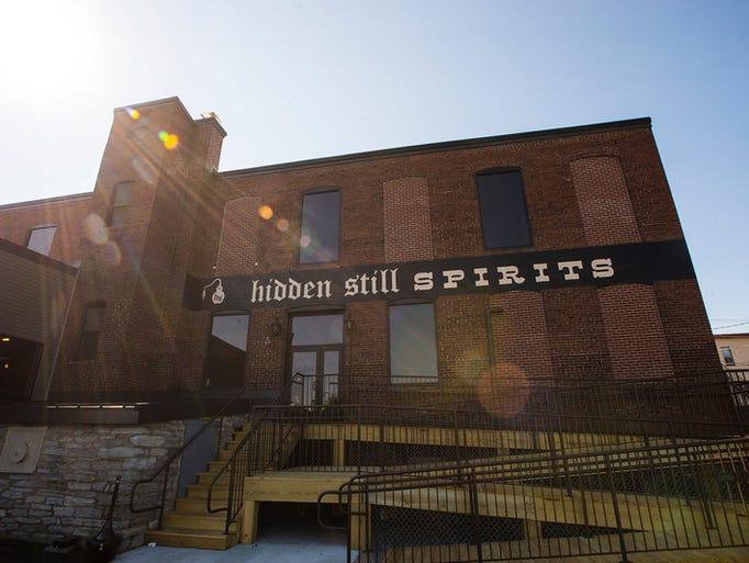 """Hidden Still Spirits located on the northeast corner"