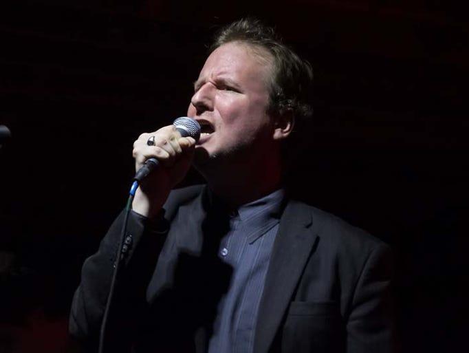 Lead singer Joe Casey of the Detroit-based post-punk
