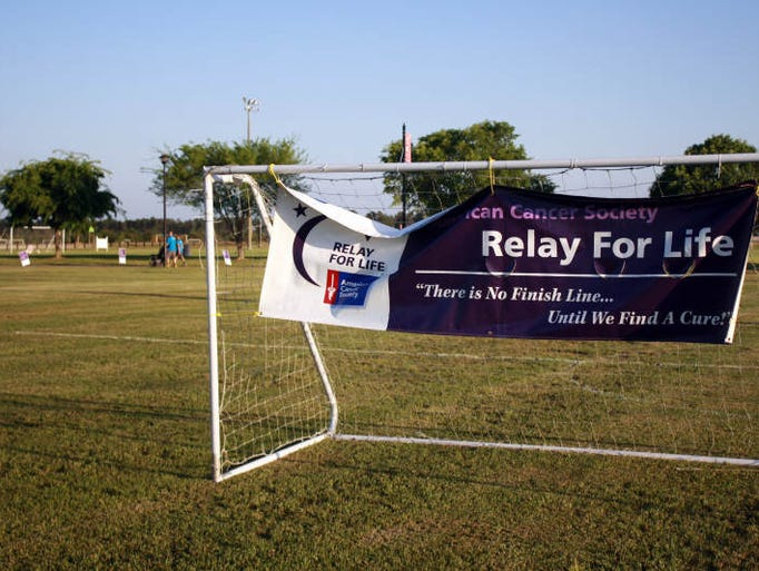 Relay For Life kicked off Friday evening for the Forrest County-Hattiesburg area at Tatum Park. Local business and groups camped out to raise funds for the charity.