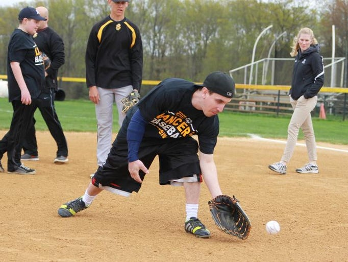St. John Vianney worked with Special Olympians earlier this month.