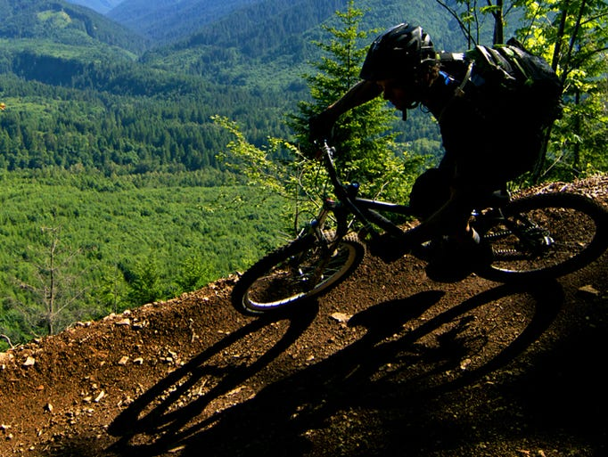 Sandy Ridge Trail system is one of the first systems to feature mountain bike specific trails in Oregon. It's expected to lure 120,000 riders in 2014.