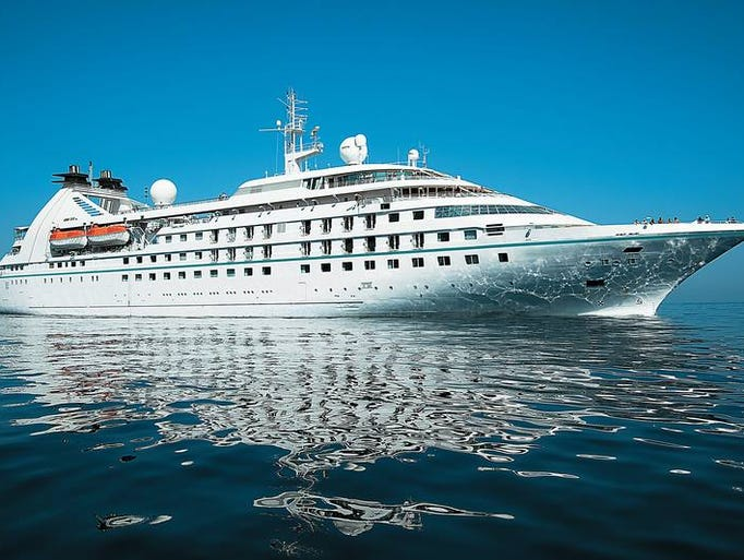 Christened at a ceremony in Barcelona on May 5, 2014, the 212-passenger Star Pride is Windstar Cruises' first new ship in nearly two decades.