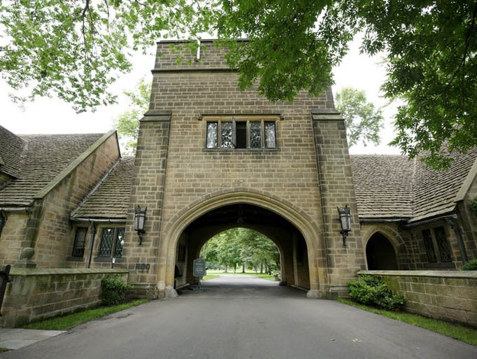 the gate lodge at the edsel and eleanor ford house on wednesday july. Cars Review. Best American Auto & Cars Review