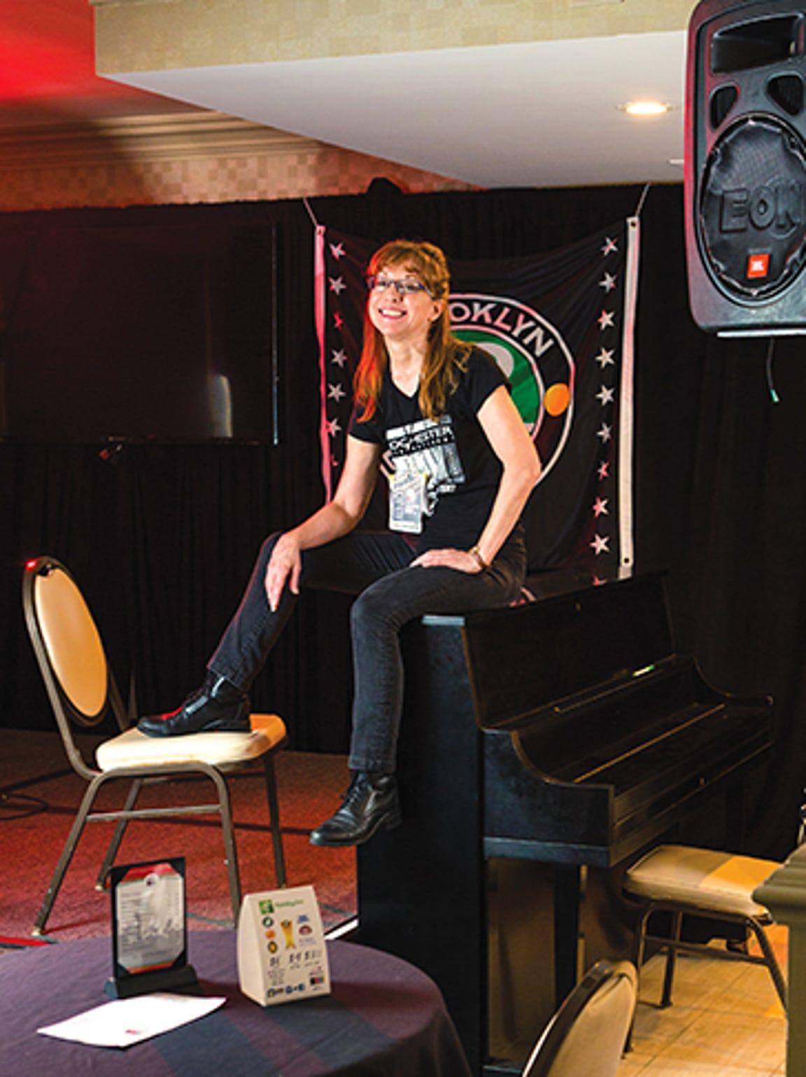 Jazz fest transportation manager Jane Ford.