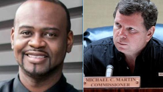 Robert C. Mitchell, left, is running against incumbent Michael C. Martin for Seat A on the Belle Glade City Commission.
