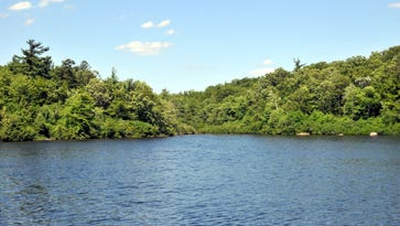Terrace Pond attracts hikers from all over, but there's a reason why swimming is banned