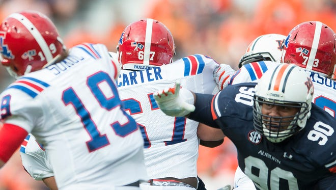 Auburn defensive lineman Gabe Wright wants to add more sacks to his stat line.