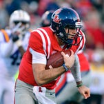 Ole Miss quarterback Chad Kelly will be playing in his first Egg Bowl on Saturday when the Rebels take on Mississippi State.