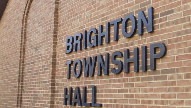 Brighton Township Hall is located on Buno Road.