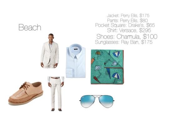 Dress Code: Beach (men)
