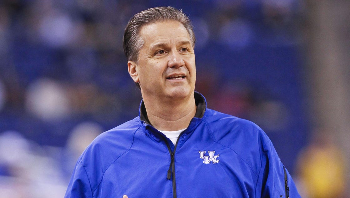 "John Calipari thinks 2015-16 Kentucky basketball ""could be ..."