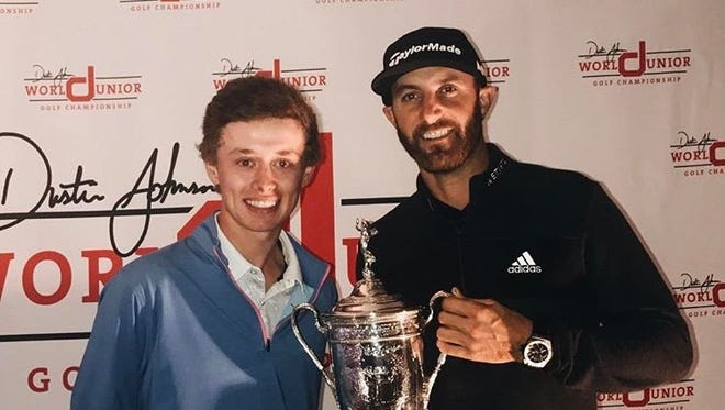 Candler's Carson Ownbey and Dustin Johnson.