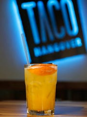 The peach nectar margarita Wednesday, April 20, 2016,
