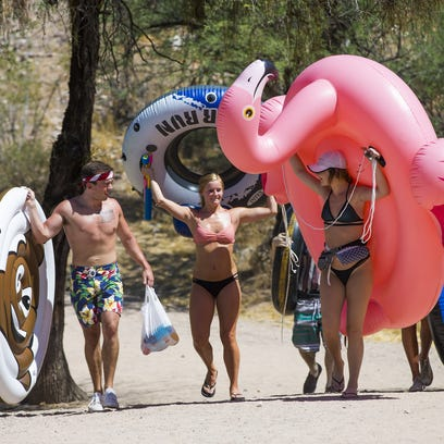 Dive into water-filled events at Salt River Tubing, Wet 'n' Wild, Cityscape and Sunsplash
