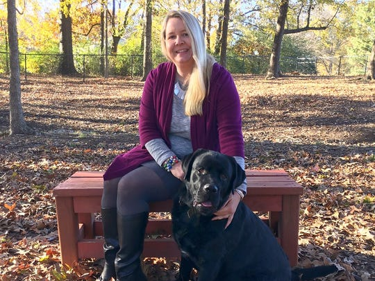 Margaret Yoder and her husband are planning to launch a luxury canine spa in Collierville, complete with a specially designed swimming pool for pets such as her dog Jet.