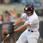 Mississippi State's Jake Mangum was named to the NCBWA's All-Freshman team on Monday.