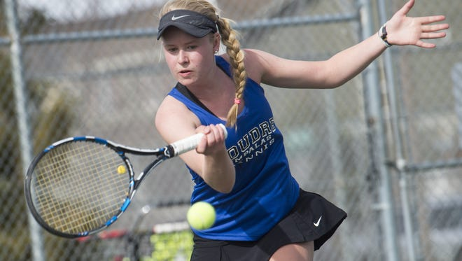 Poudre's Ky Ecton will represent the Impalas at the 5A state tournament this week.