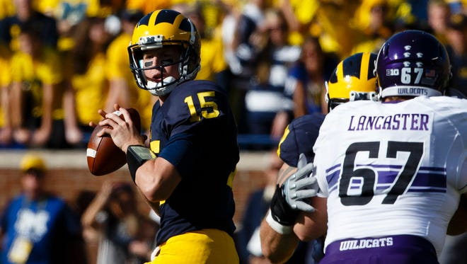 The 5-1 start by Jake Rudock and Michigan seems less surprising with every passing week.