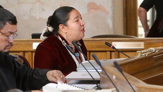 Navajo Nation Council Delegate Amber Kanazbah Crotty says she is grateful for the recent action by two tribal leaders to address sexual harassment in the workplace.