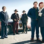 "Stars in the second season of ""Fargo"" include (from left) Jean Smart, Patrick Wilson, Ted Danson, Jesse Plemons and Kirsten Dunst."