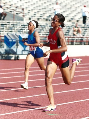 Tracey Folden, a member of the 2017 class of the Henderson County Sports Hall of Fame, followed her successful high school career by competing on the women's track team at Western Kentucky University.