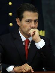 Mexico's President Enrique Peña Nieto