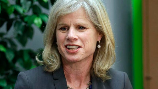 Mary Burke, a Democratic candidate for Wisconsin governor.