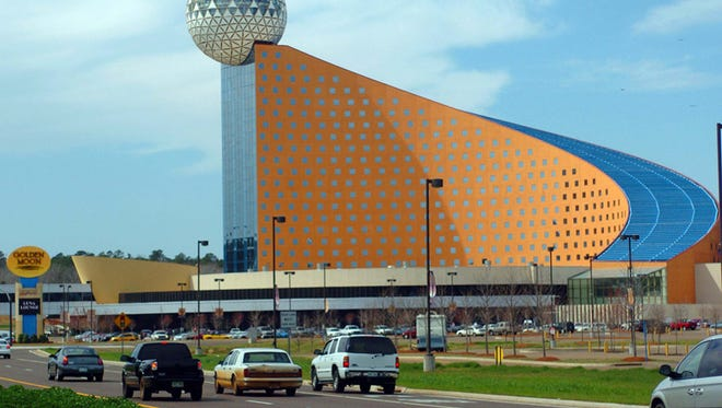 The Golden Moon Hotel and Casino is located on the Choctaw's Pearl River Resort.