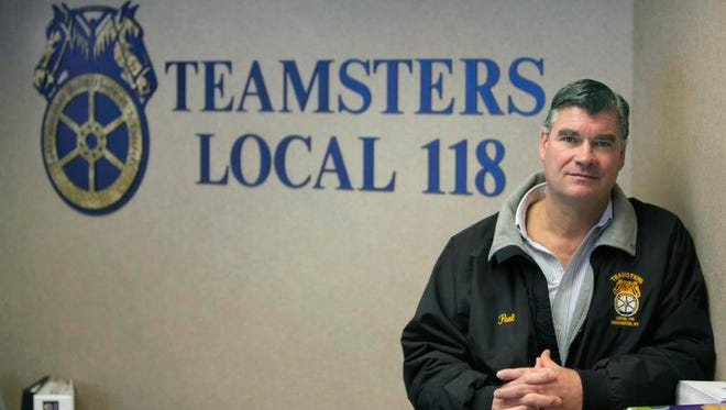 Archive: Paul Markwitz, president of Teamsters Local 118.