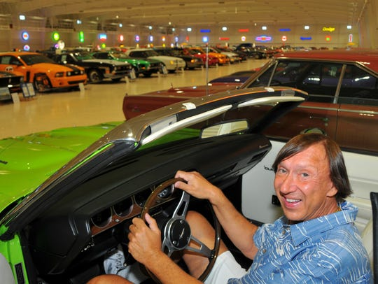 Mark Pieloch opened the American Muscle Car Museum in October 2016 in Melbourne.